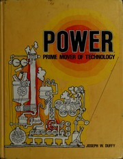 Power: Prime Mover of Technology (9780873454209) photo
