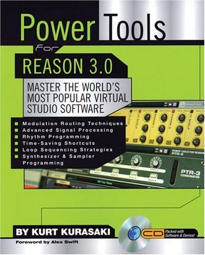 Power Tools for Reason 3.0: Master the World's Most Popular Virtual Studio Software [With CD ROM] 9780879308612