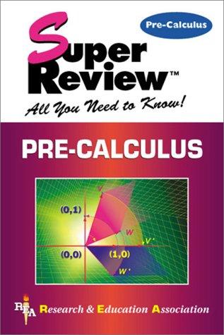 Pre-Calculus 9780878910885