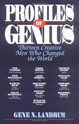 Profiles of Genius: Thirteen Creative Men Who Changed the World 9780879758325
