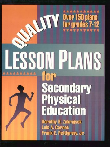 Quality Lesson Plans for Secondary Physical Education 9780873226714
