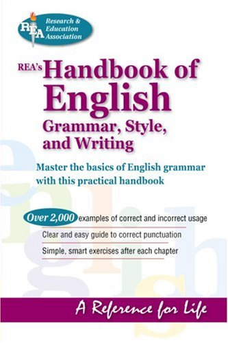 Rea's Handbook of English Grammar, Style, & Writing 9780878915521