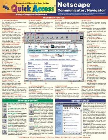 Rea's Quick Access Netscape Communicator 9780878912551