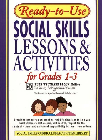 Social Skills Lessons & Activities for Grades 1-3 9780876284735