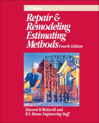 Repair and Remodeling Estimating Methods 9780876296615