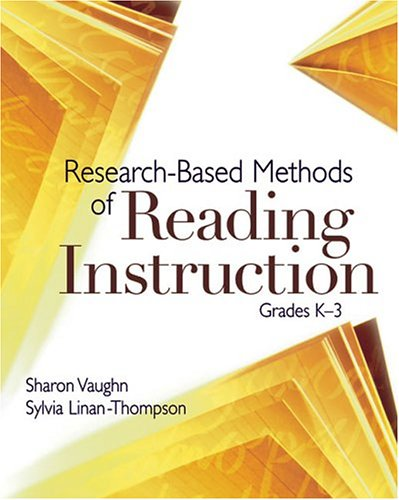 Research-Based Methods of Reading Instruction, Grades K-3 9780871209467