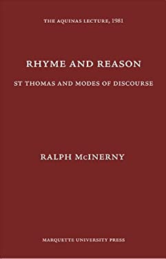 Rhyme and Reason: St. Thomas and Modes of Discourse 9780874621488