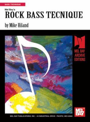 Rock Bass Technique 9780871668462