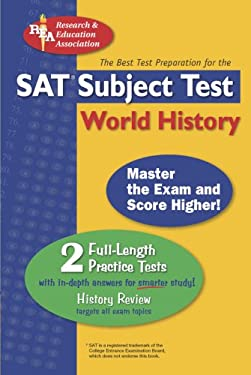 SAT Subject Test World History 9780878911301