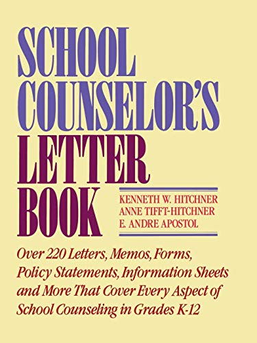 School Counselor's Letter Book 9780876287866