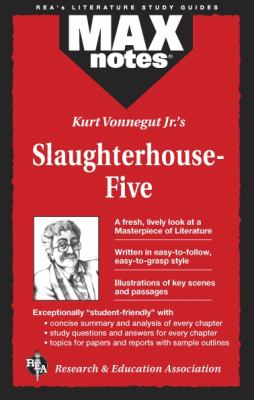 Slaughterhouse-Five (Maxnotes Literature Guides) 9780878910458