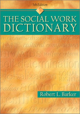 Social Work Dictionary 9780871013552