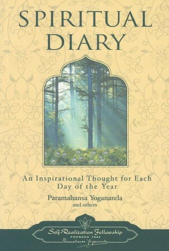 Spiritual Diary: An Inspirational Thought for Each Day of the Year 9780876120231