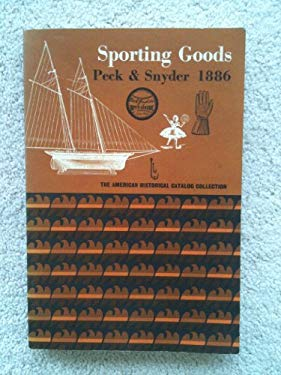 Sporting Goods: Sports Equipment and Clothing, Novelties, Recreative Science, Firemen's Supplies, Magic Lanterns and Slides, Plays and