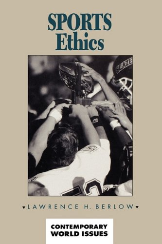 Sports Ethics: A Reference Handbook 9780874367690