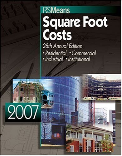 Square Foot Costs: Residential, Commercial, Industrial, Institutional 9780876298718