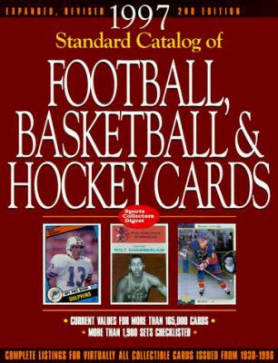 Standard Catalog of Football, Basketball and Hockey Cards 9780873414319