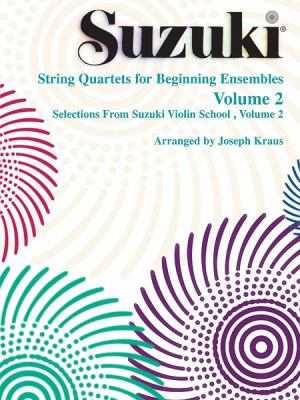 String Quartets for Beginning Ensembles, Volume 2 9780874872828