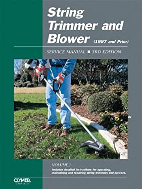 String Trimmer and Blower Service Manual 9780872886773