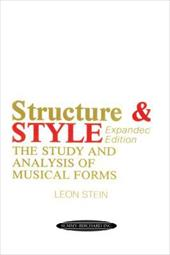 Structure & Style: The Study and Analysis of Musical Forms 3872508