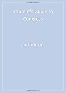 Student's Guide to Congress 9780872895546