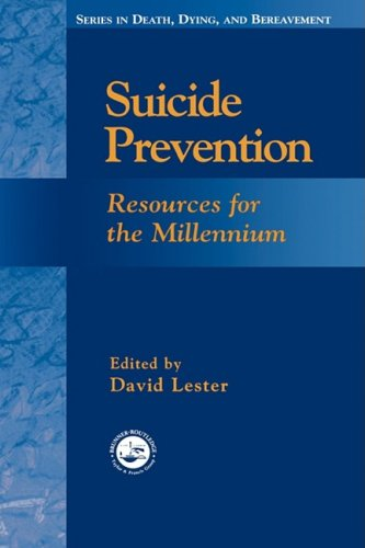 Suicide Prevention: Resources for the Millennium 9780876309872