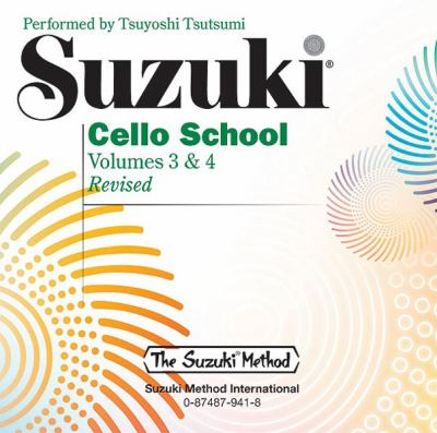 Suzuki Cello School: Volume 3 & 4 9780874879414