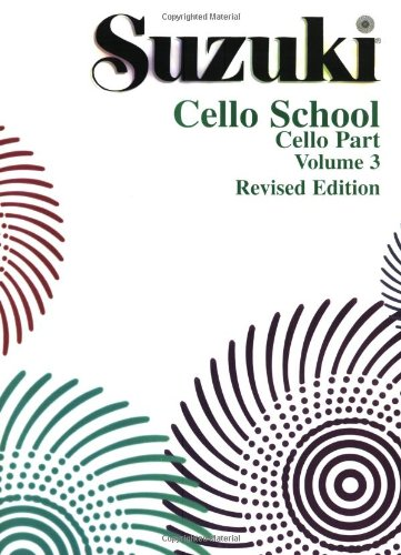 Suzuki Cello School, Vol 3: Cello Part 9780874874839