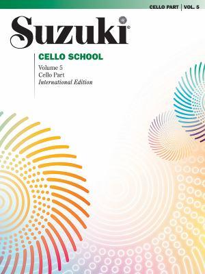 Suzuki Cello School, Vol 5: Cello Part 9780874872675