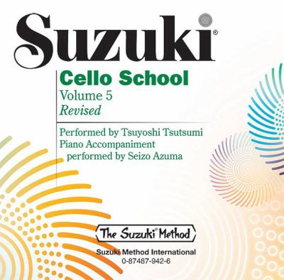 Suzuki Cello School, Volume 5 9780874879421
