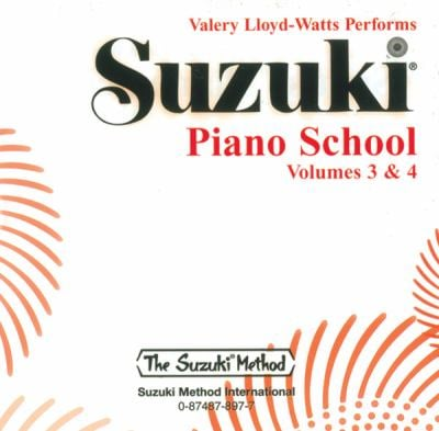 Suzuki Piano School: Volumes 3 & 4 9780874878974