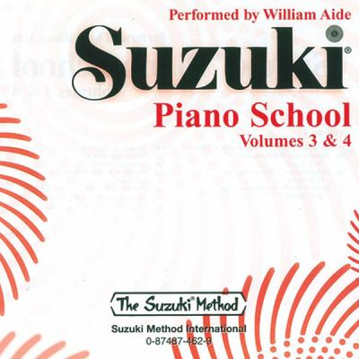 Suzuki Piano School, Vol 3 & 4 9780874874624