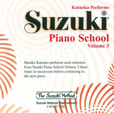 Suzuki Piano School, Vol 3 9780874874990