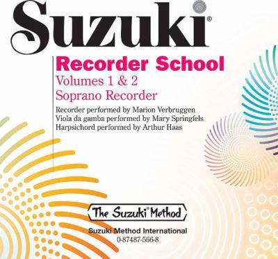 Suzuki Recorder School: Volume 1 & 2 Soprano Recorder 9780874875669