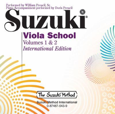 Suzuki Viola School, Volumes 1 & 2