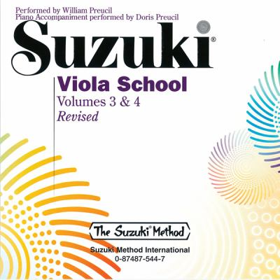 Suzuki Viola School, Vol 3 & 4