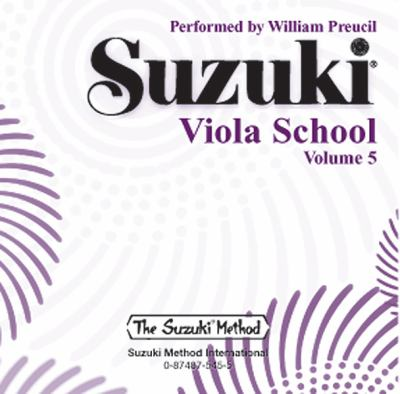 Suzuki Viola School, Volume 5