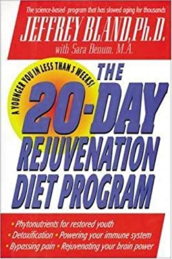 The 20-Day Rejuvenation Diet Program 9780879837600