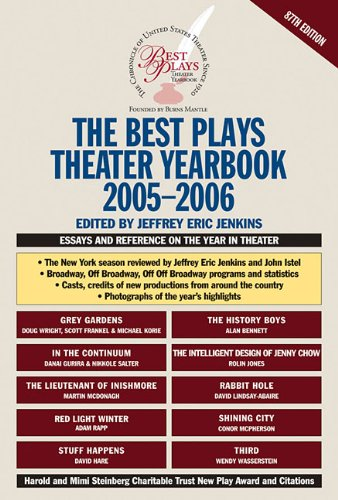 The Best Plays Theater Yearbook 9780879103460