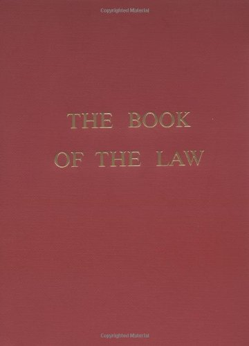 The Book of the Law 9780877283348