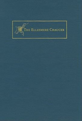 The Canterbury Tales: The New Ellesmere Chaucer Monochromatic Facsimile (of Huntington Library MS EL 26 C 9) 9780873281621