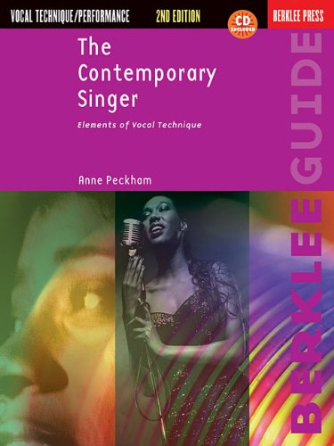 The Contemporary Singer: Elements of Vocal Technique 9780876391075