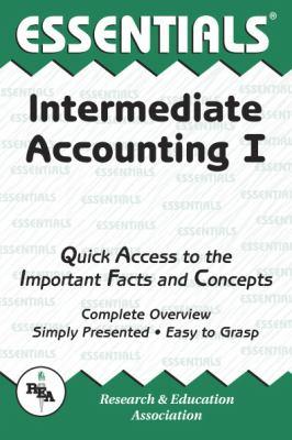 The Essentials of Intermediate Accounting I 9780878916825