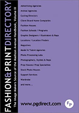 The Fashion & Print Directory - The Madison Avenue Handbook 9780873142526