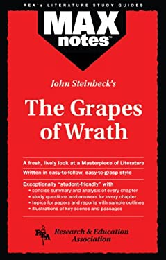 Grapes of Wrath, the (Maxnotes Literature Guides) 9780878919475