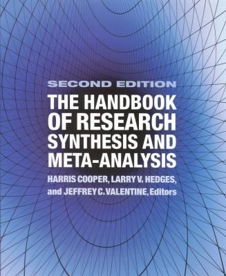 The Handbook of Research Synthesis and Meta-Analysis 9780871541635