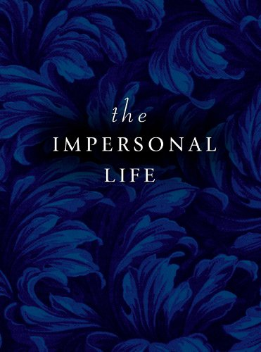 The Impersonal Life 9780875163017