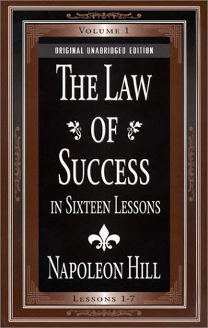 The Law of Success: In Sixteen Lessons 9780879804473