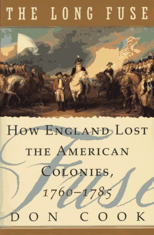 The Long Fuse: How England Lost the American Colonies 1760-1785 9780871136619