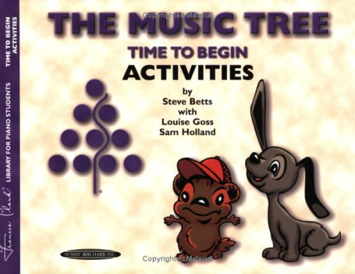 The Music Tree Time to Begin Activities 9780874879537